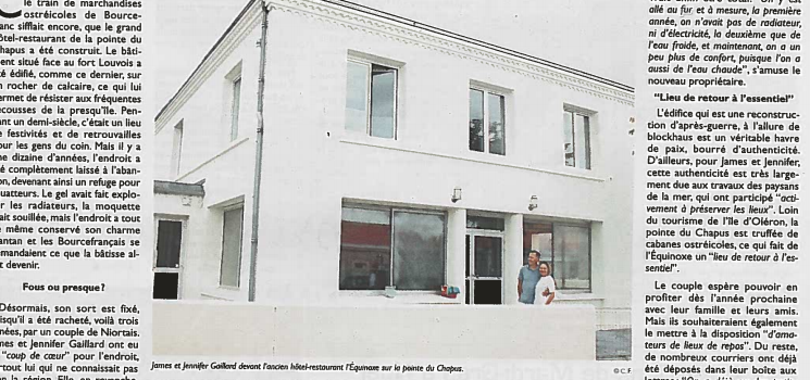 La villa Equinoxe rénovation