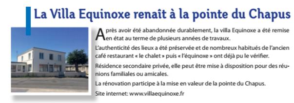 La villa Equinoxe proche de Marennes