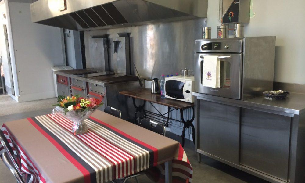 Cuisine équipée professionnelle - Fort Louvois